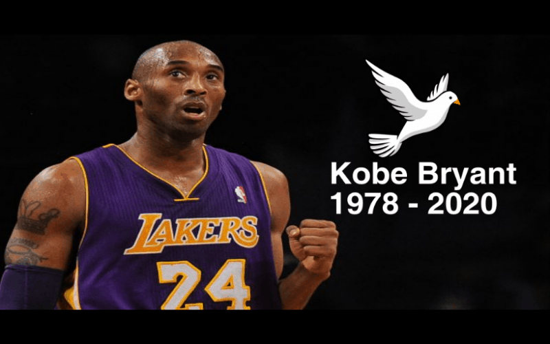 Kobe Bryant Legendary Basketballer 1978 - 2020